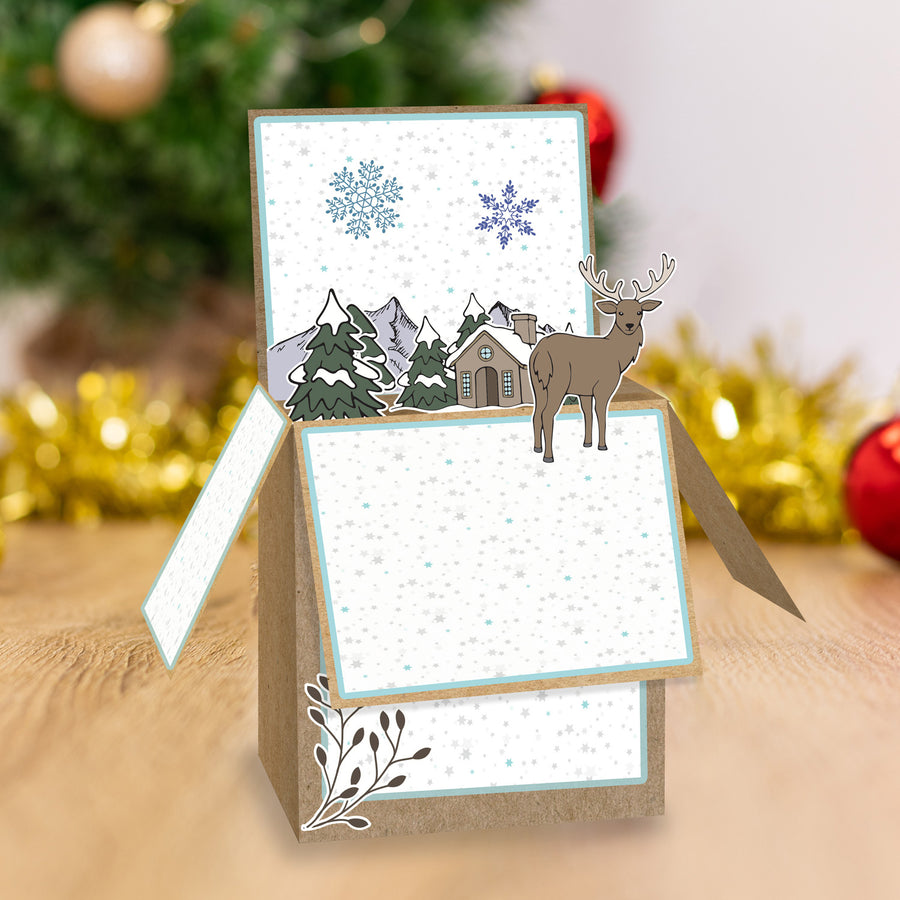 Gemini by Crafters Companion - Stamp & Die - Christmas Cottage