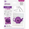 Gemini by Crafters Companion Die - Create a Card - Time for Tea