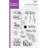 Crafters Companion - Clear Acrylic Stamps - Time for Tea Accessories