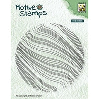 Nellie Snellen Texture Clear Stamps - Waves - TXCS014