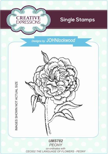 John Lockwood - Stamps To Die For - Peony Stamp (UMS782)