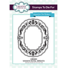 Sue Wilson Stamps To Die For - Vivian's Royal Wreath Stamp - UMS865