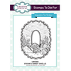 Sue Wilson Stamps To Die For - Vivian's Sandy Shells Stamp - UMS866