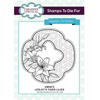 Sue Wilson Stamps To Die For - Lesley's Tiger Lilies Stamp  - UMS872