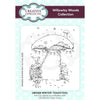 Willowby Woods Collection - Winter Toadstool A6 Pre Cut Rubber Stamp - UMS898