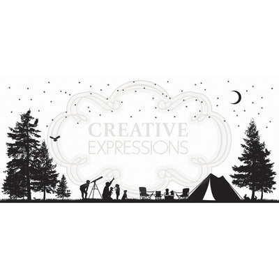 Creative Expressions Stamp - Designer Boutique Collection - Stargazing
