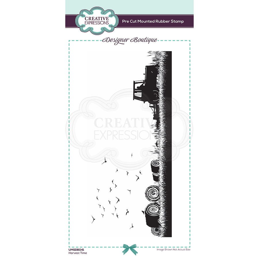 Creative Expressions Stamp - Designer Boutique Collection - Harvest Time