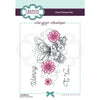 Creative Expressions Stamp - Designer Boutique Collection - Butterfly Blooms