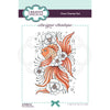 Creative Expressions Stamp - Designer Boutique Collection - Floral Bubbles