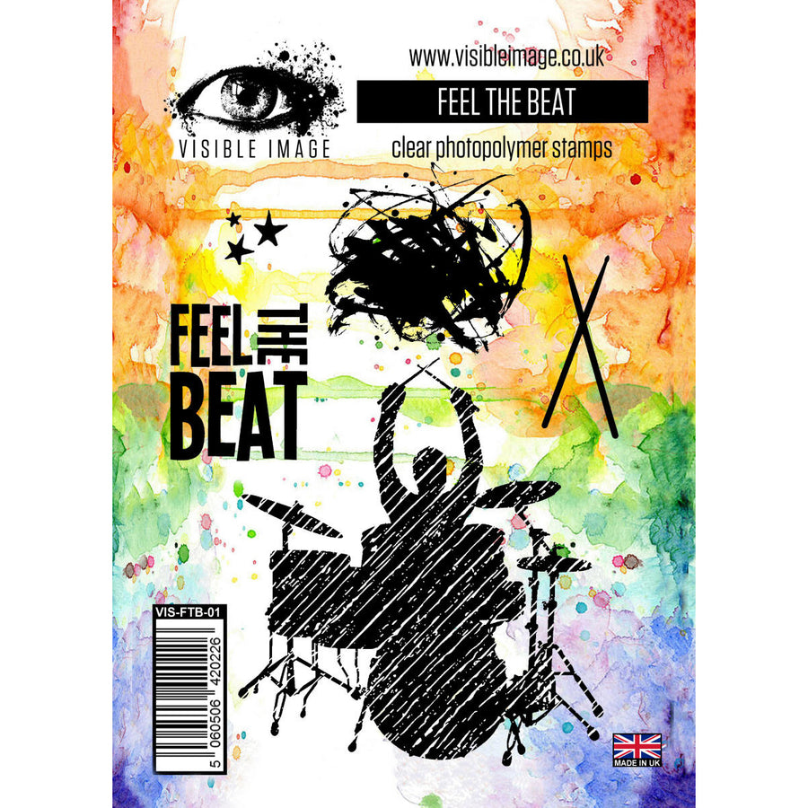 Visible Image Stamp - Feel The Beat