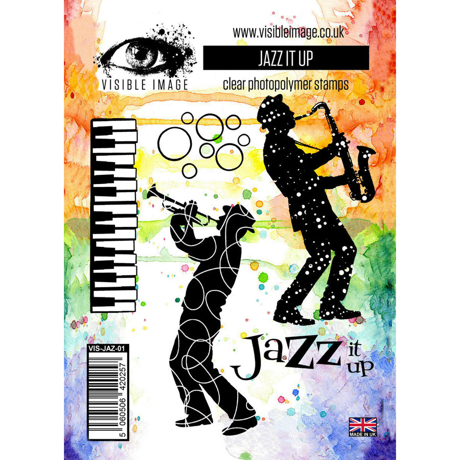 Visible Image Stamp - Jazz It Up