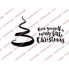 Visible Image Stamp - Merry Little Christmas