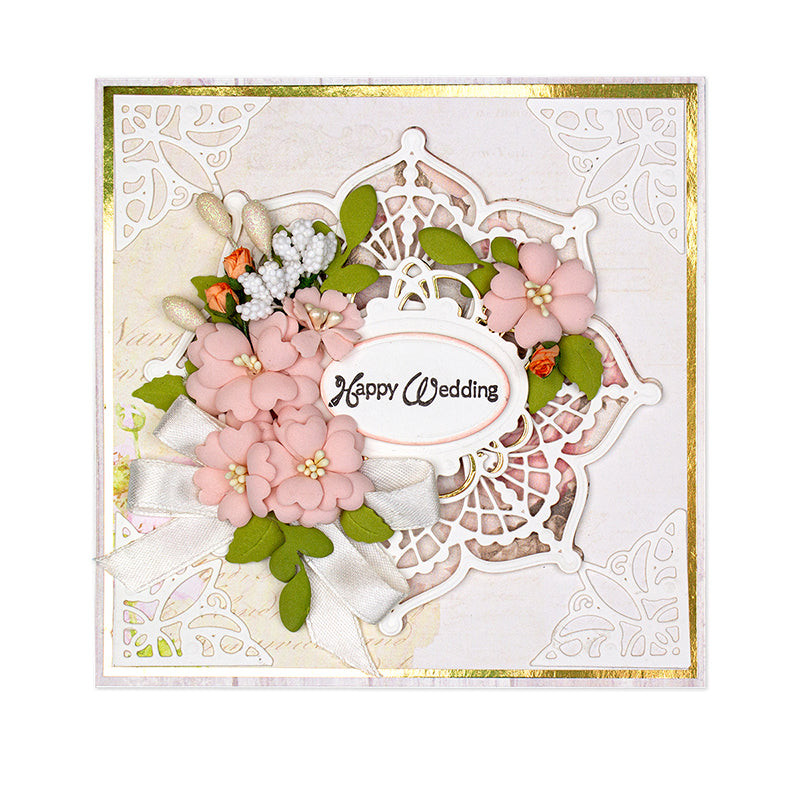 Spellbinders Dies - Candlewick Classics by Becca Feeken - Doily Round - S5-406