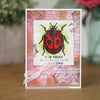Woodware Clear Singles - Little Ladybird - FRM004