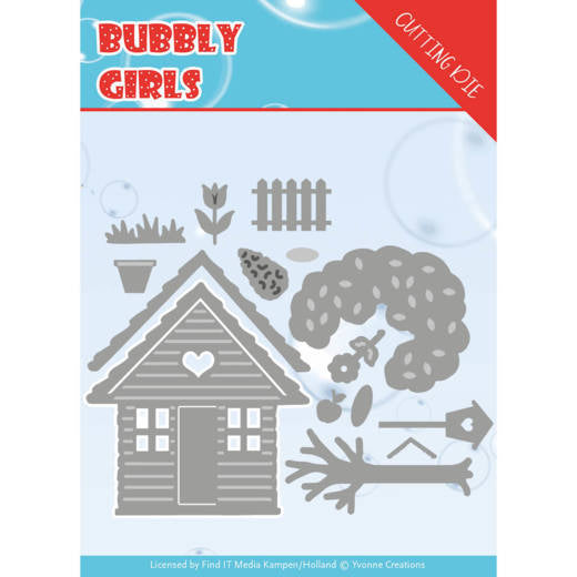 Yvonne Creations - Bubbly Girls Cutting Dies - In the Garden