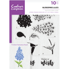 Crafters Compnion - A5 Photopolymer Stamp - Blossoming Lilacs
