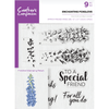 Crafters Compnion - A5 Photopolymer Stamp - Enchanting Foxglove