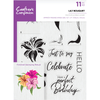 Crafters Compnion - A5 Photopolymer Stamp - Lily Bouquet