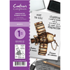 Crafter's Companion A6 Unmounted Rubber Stamp - Spiffy