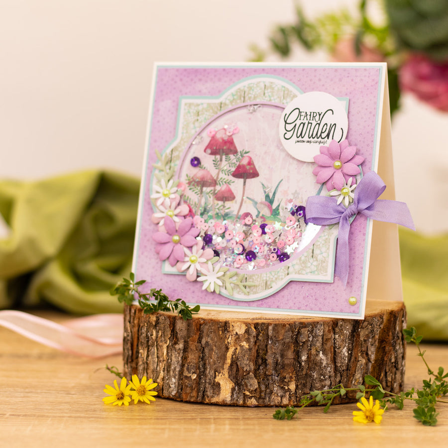 Natures Garden - Fairy Garden - Metal Die - Pretty Posies