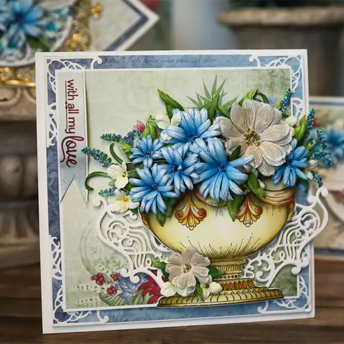 Heartfelt Creations - Floral Shoppe Accents Die - HCD1-7330