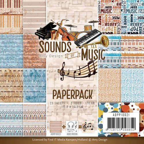 Amy Design Sounds of Music Paper Pack
