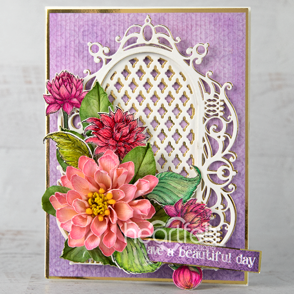 Heartfelt Creations - Regal Lattice Gateway Die -  HCD2-7339