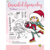 Annabel Spenceley Photopolymer Stamp - Enjoy The Festivities