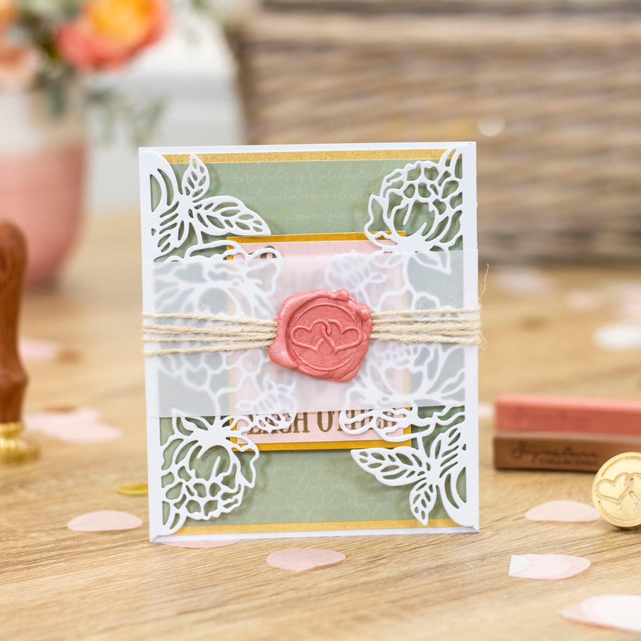 Sara Signature Collection by Crafters Companion - Garden of Love - Wax Seal Kit