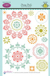 JustRite Stamps - Dainty Doilies (SW-04700)