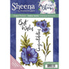 Sheena Douglass - In Full Bloom - A5 Rubber Stamp - Adorable Anemone