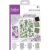 Crafters Companion - A6 Background Layering Stamps - Fruit of the Vine