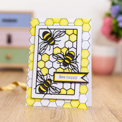 Gemini by Crafters Companion - Stamp & Die - Bee-Utiful Bee's
