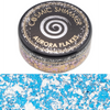 Cosmic Shimmer Aurora Flakes - Blue Ice - 50ml