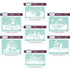 Paper Cuts Christmas Edger Dies - Bundle of 7