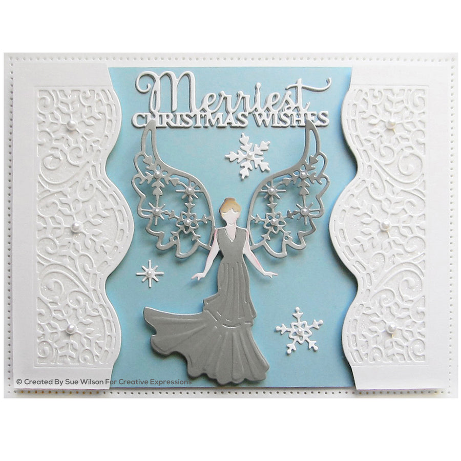 Sue Wilson Dies - Festive Collection - Festive Angel 2020 - CED3195