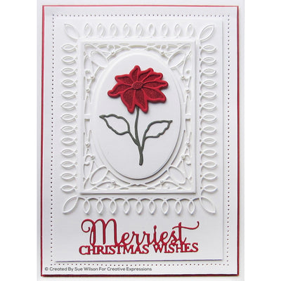 Sue Wilson Dies - Festive Collection - Merriest Christmas Wishes - CEDME061