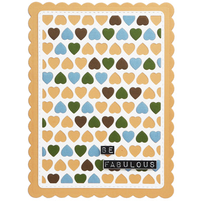 Lisa Horton Dies - Background Collection - Hearts Craft Die