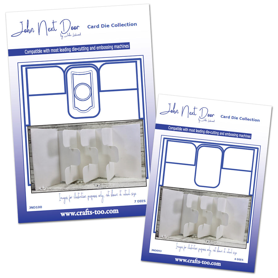 John Next Door Die - Card Collection - Tag Card Small & Large Bundle