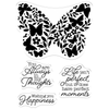 Crafters Companion - Photopolymer Stamp - Perfect Butterfly