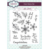 Sue Wilson A5 Stamp Set - Cosmos Flower - CEC935