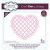 Sue Wilson Dies - Filigree Artistry Collection Woven Heart - CED2001