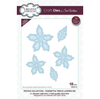 Sue Wilson Dies - Festive Collection -  Poinsettia Triple Layered die - CED3173