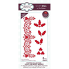 Sue Wilson Dies - Festive Collection -  Holly and Berry Border Craft Die - CED3177