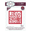Sue Wilson Dies - Festive Collection -  Poinsettia Flower Square Craft Die - CED3179