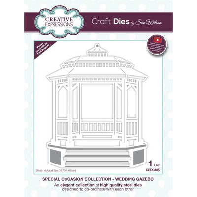 Sue Wilson Dies - Special Occasions Collection Wedding Gazebo - CED9405
