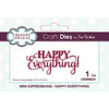 Sue Wilson Dies - Mini Expressions - Happy Everything - CEDME041