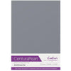 Crafter's Companion Centura Pearl 10 Sheet Card Pack - Anthracite