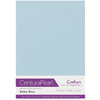 Crafter's Companion Centura Pearl 10 Sheet Card Pack - Baby Blue