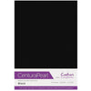 Crafter's Companion Centura Pearl 10 Sheet Card Pack - Black